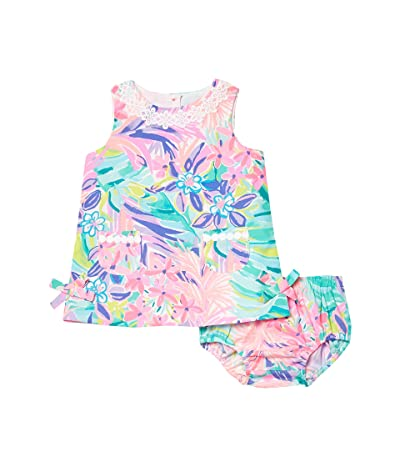 Lilly Pulitzer Kids Baby Lilly Shift Dress (Infant) (Multi It Was All A Dream) Girl