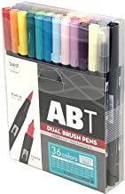 Tombow AB-T36CBA Dual Brush Pen (Set of 36)