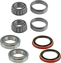 Front Inner & Outer Wheel Bearing w/Seal Pair LH & RH Sides for Ford F150 2WD