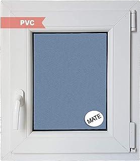 comprar comparacion Ventana PVC Practicable Oscilobatiente Derecha 500 ancho x 600 alto 1 hoja con vidrio Carglass (Climalit Mate)
