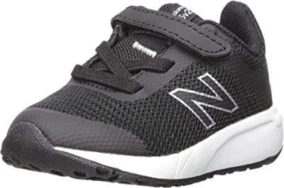 New Balance Kids 455v2 (Infant/Toddler) (Black/White) Boys Shoes