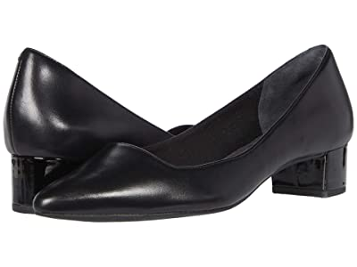 Rockport Total Motion Gracie Pump (Black Leather) Women