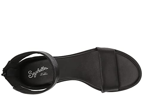 Seychelles Cuir Leatherpewter De Leathervacchetta Haute Noir 8x7qRfw