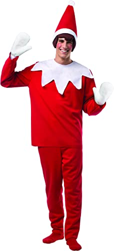 Sin impuestos RASTA IMPOSTA Elf On The Shelf Adult Costume Costume Costume One Talla Fits Most  salida para la venta