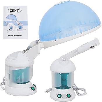 ZENY Mini 3 in 1 Facial Steamer Desktop Hair Steamer Humidifier Hot Mist Moisturizing Facial Atomizer Face Hydration System Sprayer,Home Salon Spa