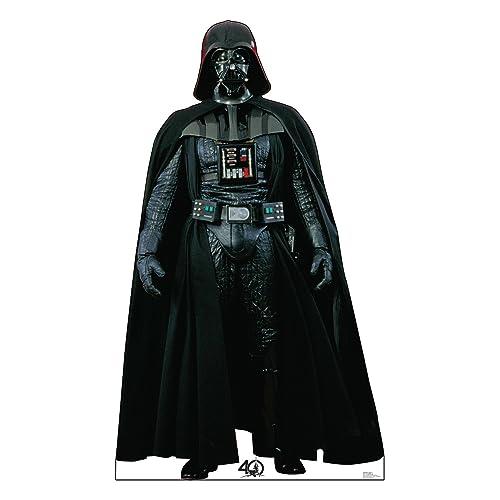 22c4e70f9 Advanced Graphics Darth Vader Life Size Cardboard Cutout Standup - Star Wars  40th Anniversary