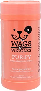 Wags & Wiggles Polish Multipurpose Wipes for Dogs