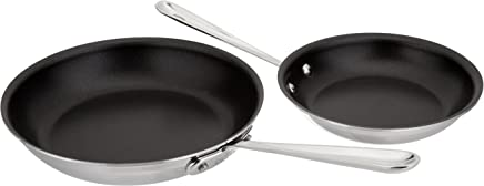 All-Clad d5 Stainless-Steel 9 French Skillet SD55109