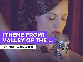 (Theme From) Valley Of The Dolls al estilo de Dionne Warwick