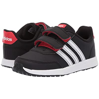 adidas Kids VS Switch 2 CMF (Infant/Toddler) (Core Black/Footwear White/Active Red) Kids Shoes