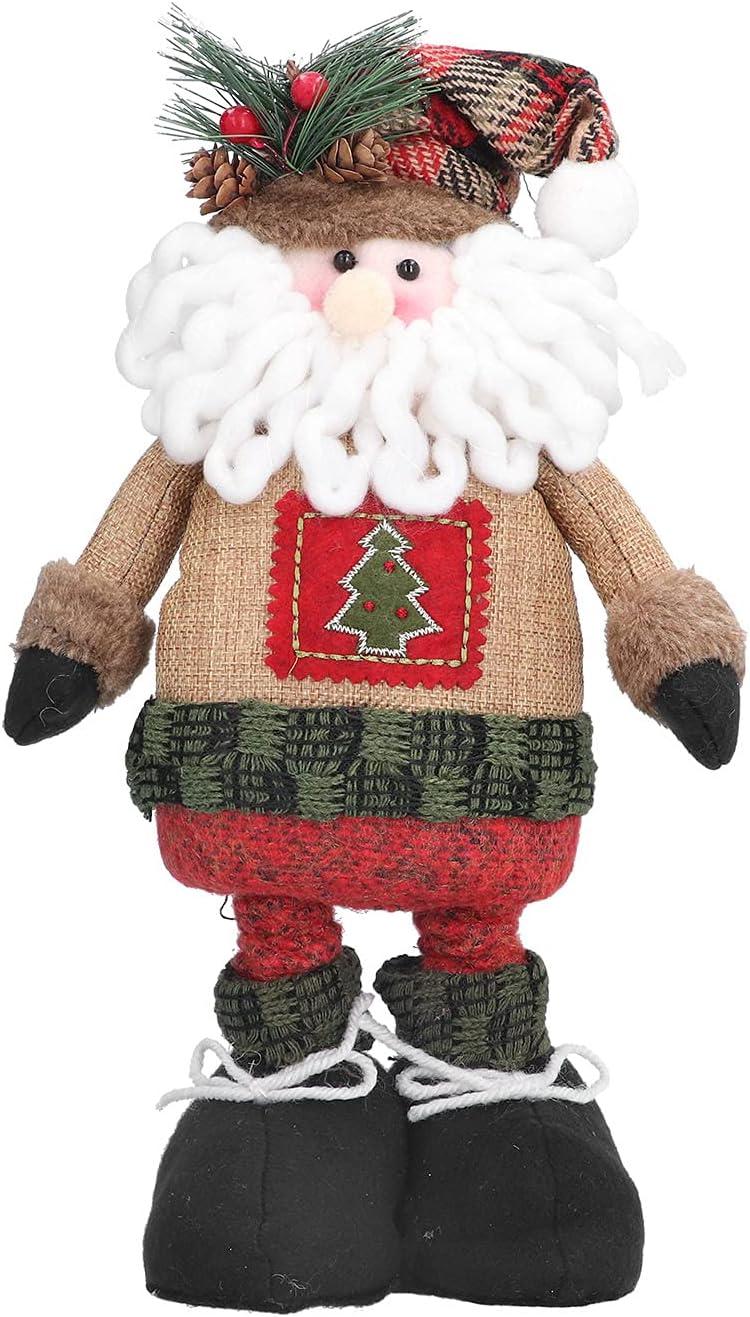 Christmas Decorations OFFicial shop Santa Claus Cu Telescopic Doll Max 85% OFF