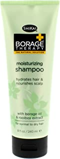 ShiKai - Borage Therapy Moisturizing Shampoo, Plant-Based Hydration For Dry Hair & Nourishes Irritated Or Itchy Scalp, Leaves Hair Soft & Tangle-Free (8 oz)