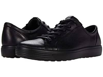 ECCO Soft 7 Perforated Luxe Sneaker