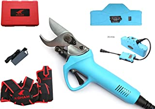 Zenport KH-06 ePruner Koham Battery Powered Electric Pruner, 1.25 Inch Cut, Blue