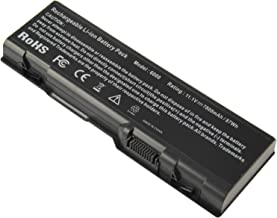 New 9Cell 7800mAh Laptop Battery fit Dell Inspiron 6000 9200 9300 9400 E1505n E1705 Precision M90 M6300 XPS M170 XPS M1710 Gen 2, D5318 GG574 U4873 310-6321 312-0339 312-0340 -Futurebatt