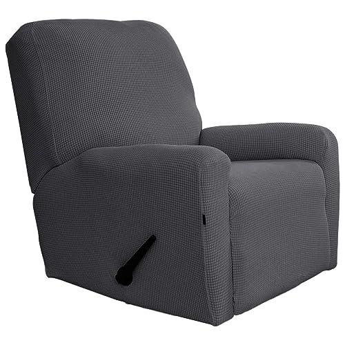 Easy-Going Recliner Stretch Sofa Slipcover Sofa Cover 4-Pieces Furniture  Protector Sofa Shield c51a2f39da