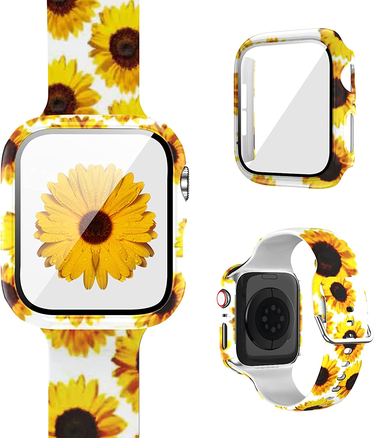 1+1 Pack Compatible for Apple Case Band W with Max 40% OFF Watch All items free shipping