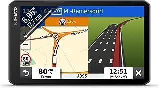 """Garmin dēzl LGV700 MT D – LKW Navi mit 6,95"""" (17,7 cm) Touchdisplay und vorinstallierten 3D EU Navigationskarten. Digital Traffic DAB+, fahrzeugspezifische Navigation, Warnhinweise, Parkplatz Finder"""