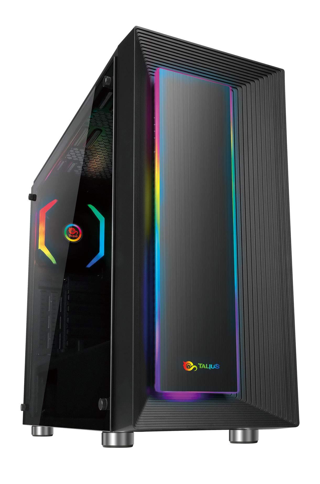 Talius Caja ATX Gaming Auriga Cristal Templado USB 3.0: Amazon.es: Informática