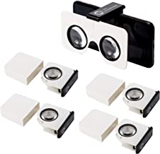 Five-Pack Pocket 360 Mini VR Viewer   The Best Google Cardboard Virtual Reality Glasses   Google Cardboard v2 Inspired   Small and Unique Travel Gift Pack of 5