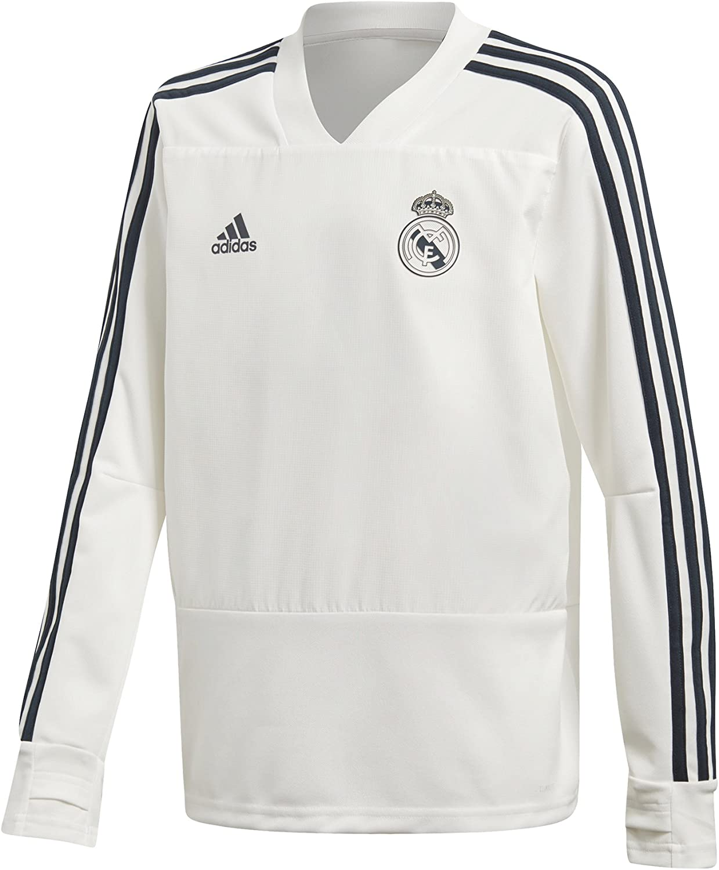 2018-2019 Real Madrid Adidas Training Top (White) - Kids