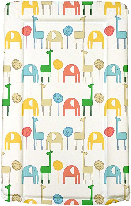 Baby Changing Mat Gelly And Nelly Giraffe Elephant One Size