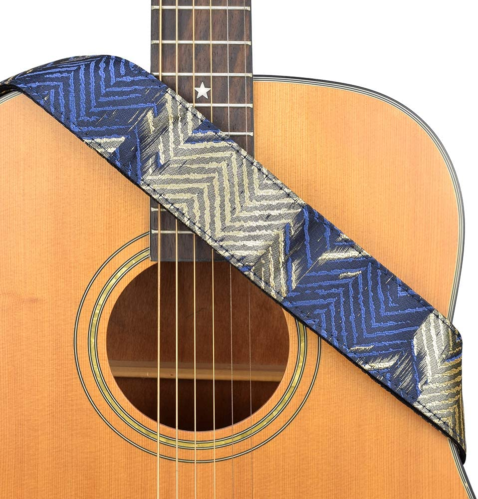 CLOUDMUSIC Guitar San Diego Mall Strap Max 77% OFF Fabric For Cotton Series Ac
