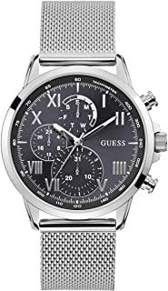 Guess Mens Quartz Watch, Analog Display and Stainless Steel Strap W1310G1