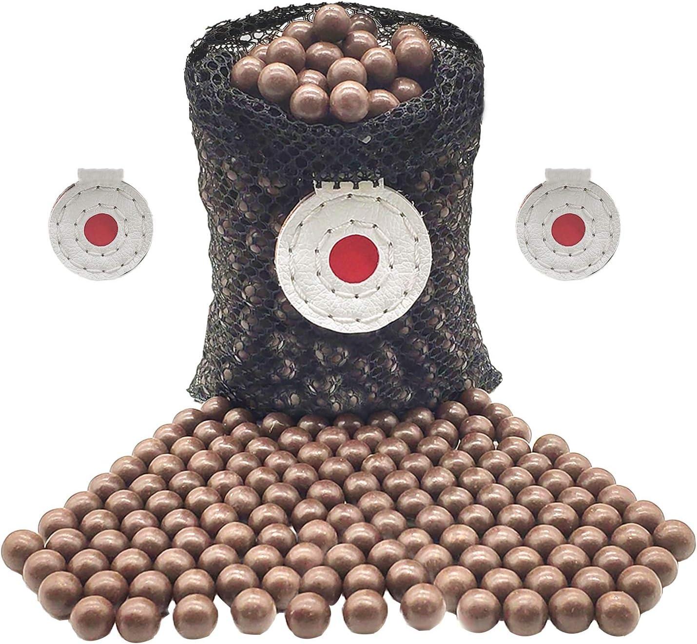 300 Pcs Recommendation Slingshot Ammo Seasonal Wrap Introduction 10mm Balls Hard Clay Bio