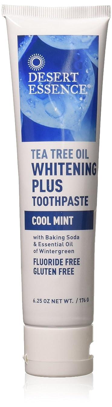 心配する線チャーターティーツリーオイル ホワイトニング フッ素なし歯磨き粉 177g/6.25oz [海外直送品]