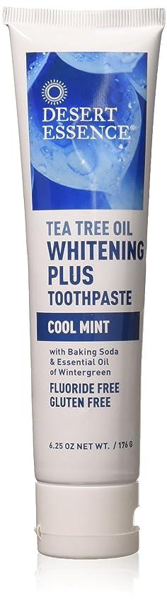 とんでもないクリスチャン太いティーツリーオイル ホワイトニング フッ素なし歯磨き粉 177g/6.25oz [海外直送品]