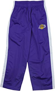 Outerstuff Los Angeles Lakers NBA Little Boys and Big Boys Tricot Track Pants - Purple