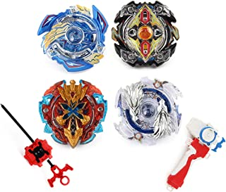 Elfnico Bey Battle Gyro Burst Battle Evolution Metal Fusion Attack Set with 4D Launcher..