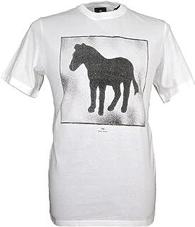 Paul Smith Men`s Spray Zebra T-Shirt - White