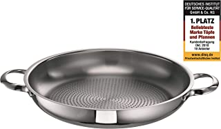 Schulte-Ufer Serving Pan Romana i, Frying Pan, Stainless Steel 18/10, 28 cm, 6951-28 i