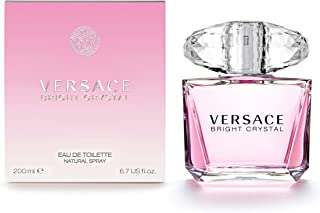 Versace Bright Crystal Eau De Toilette for Women, 200Ml for Women