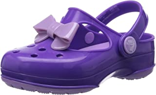 Crocs Girls' Carlie Bow Mary Jane PS