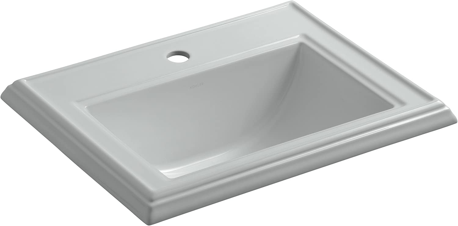 KOHLER K-2241-1-95 Memoirs Classic Max 82% OFF Drop-In Sink with Bathroom Si OFFicial mail order