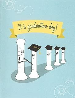 Graduated Cylinder Science Graduation Card (4.25