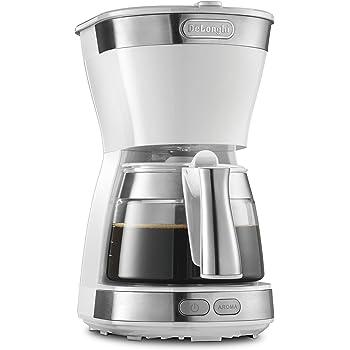デロンギ ドリップコーヒーメーカー ホワイト アクティブシリーズ [5杯用]ICM12011J-W