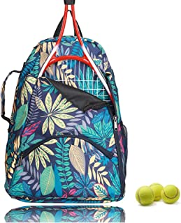 no branded Tennis Racket Backpack,Tennis & Racquet Sports Bag, Tennis Racket Bag for Pickleball/Tennis/Racket Ball,Tennis ...