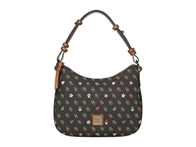 Dooney & Bourke Gretta Novelty Small Kiley Hobo (Brown T
