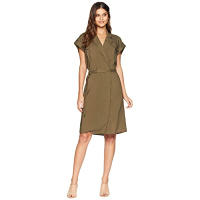 AG Adriano Goldschmied Barbara Dress (Dired Agave) Women