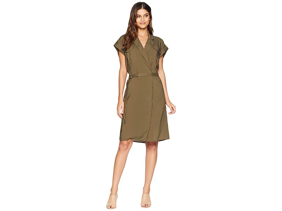 Image of AG Adriano Goldschmied Barbara Dress (Dired Agave) Women's Dress