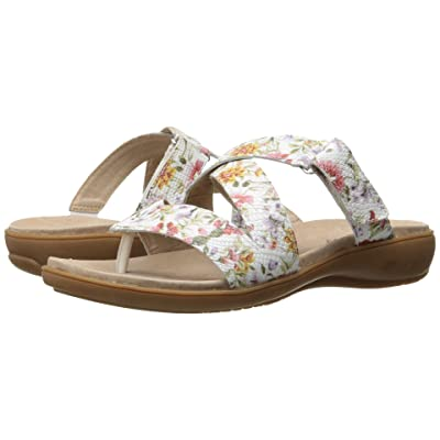 Trotters Komet (Off White Floral) Women