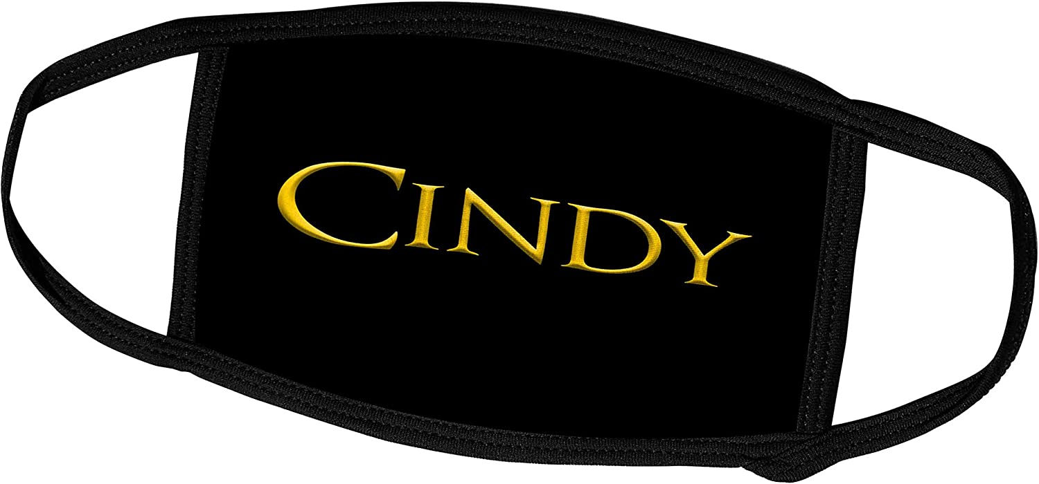 3dRose Fixed price for sale Cindy Trendy San Diego Mall Woman Name in Black T on America. The Yellow