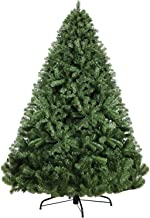 8FT Christmas Tree 2.4M Xmas Faux Green Tree Thick Foliage Jingle Jollys Holiday Decoration Indoor Décor Home Office Class...