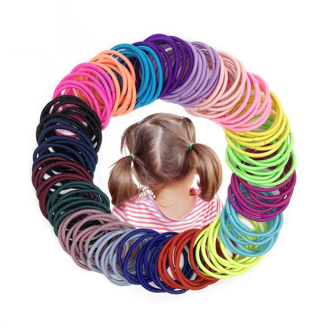 Joyeah Multicolor Ponytail Toddlers Diameter