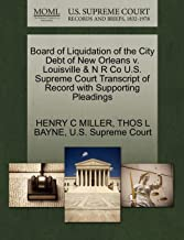 Best new orleans board of liquidation Reviews