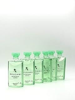 Bvlgari Au The Vert (Green Tea) Shampoo, 15 Ounces Total - Set of 6, 2.5 Ounce Bottles
